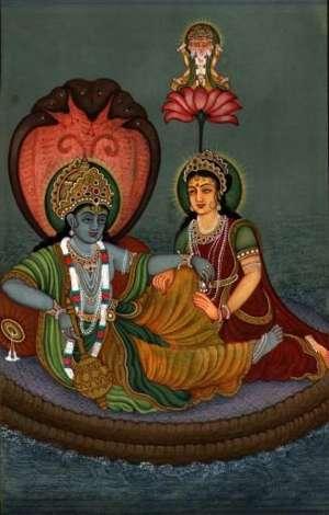 Garbhodaksayi Vishnu